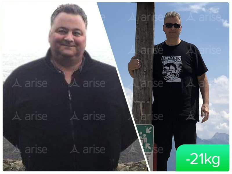 Arise success story Vollrath -21 kg